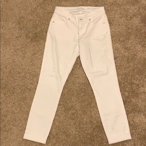 LOFT White Jeans - Curvy Skinny Crop - Size 2
